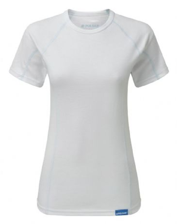 Pulsar BZ1551 Blizzard Womens -15° Thermal T-Shirt (White)